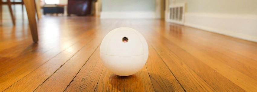 Робот-шар на страже дома