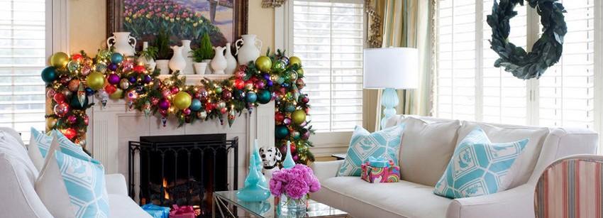 Бюджетное украшение дома к Новому году и Рождеству