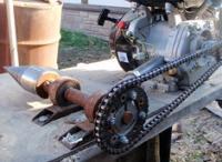 Самодельные инструменты: дровокол, бетономешалка, ямобур
