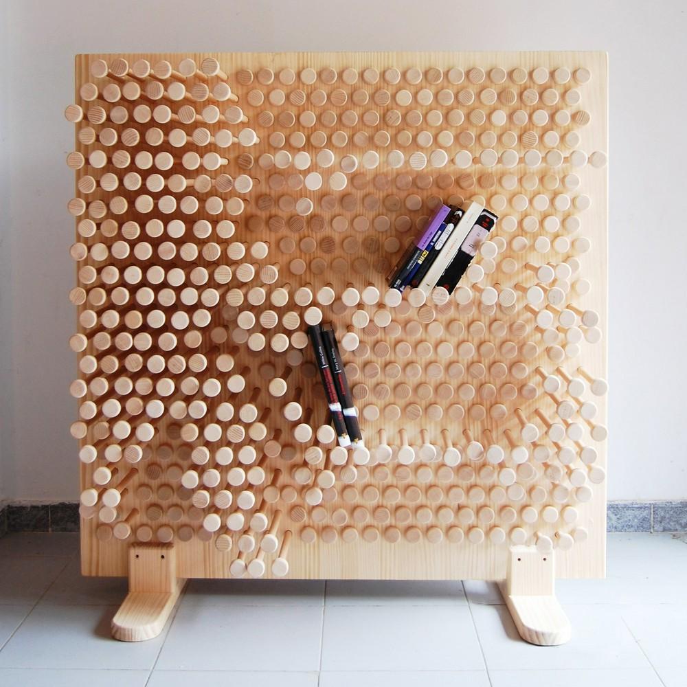 И необычно, и практично – декоративные стеллажи для детей и взрослых
