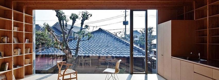 Дом для маленького и узкого участка: японский подход