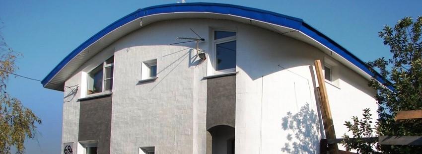 Нестандартный каменный дом. Стройка длиной в 15 лет