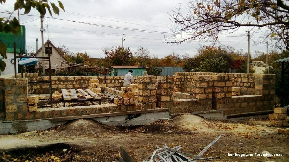 Строительство бюджетного каменного дома в Крыму: личный опыт