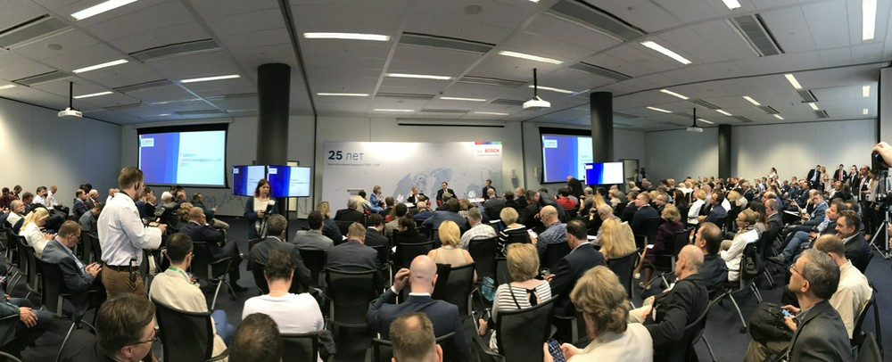 """Годовая пресс-конференция 2018 """"25 лет устойчивого развития: Bosch в России сохраняет темпы роста"""""""