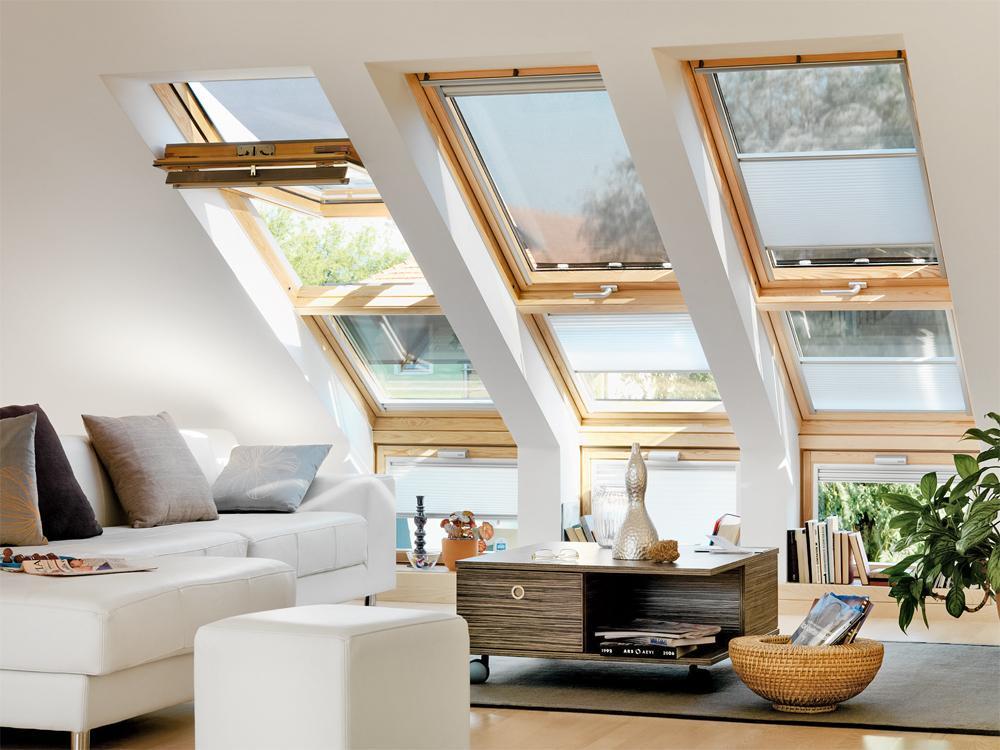 Выбор мансардного окна: разновидности и особенности конструкций