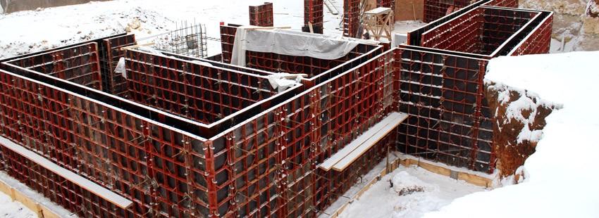 Мелкощитовая опалубка: универсальная система для создания монолитного фундамента и цокольного этажа