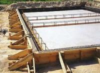 Строительство плавающего фундамента