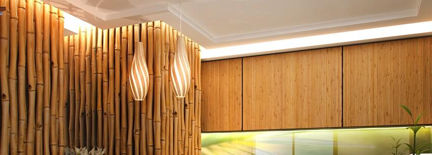 Как использовать бамбук в интерьере. Интересные решения