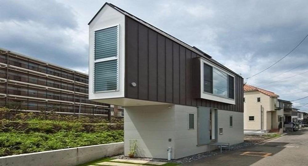 Узкий прибрежный дом – компактный, но комфортный