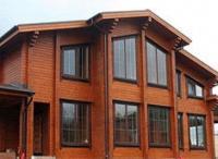 Строительство дома из клееного бруса. Отделочные работы