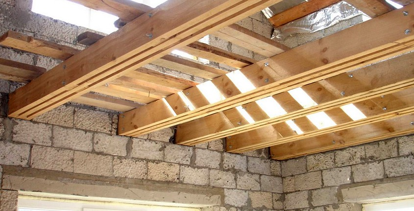 Устройство межэтажного перекрытия дома: выбор материала, советы по монтажу, личный опыт