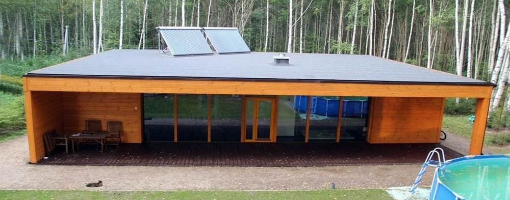 Энергоэффективный дом от участника портала: интерьер и инженерные коммуникации