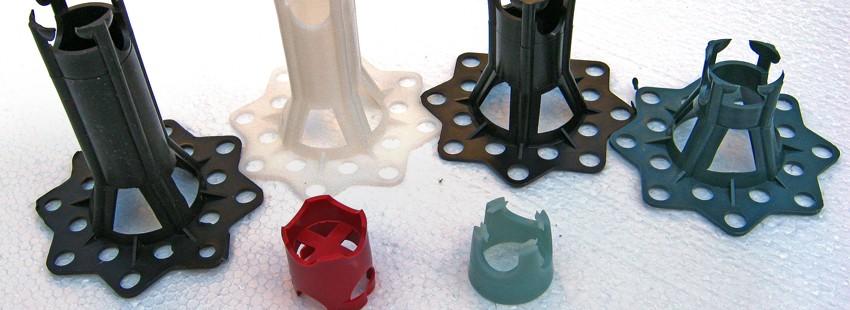 Фиксаторы арматуры: типовые изделия и вариации на тему