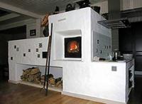 Отопление дома твердотопливными печами