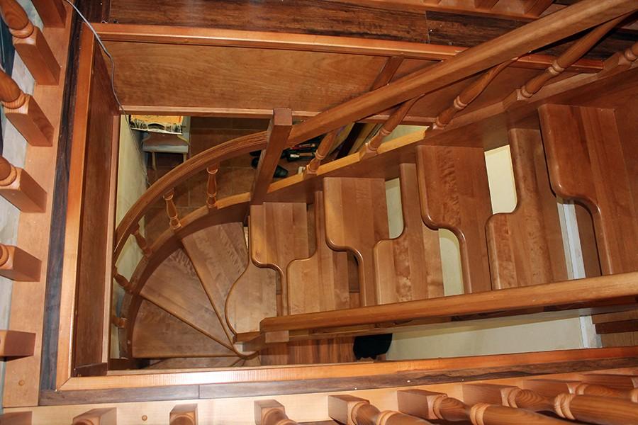 """Лестницы """"гусиный шаг"""" от участников FORUMHOUSE"""