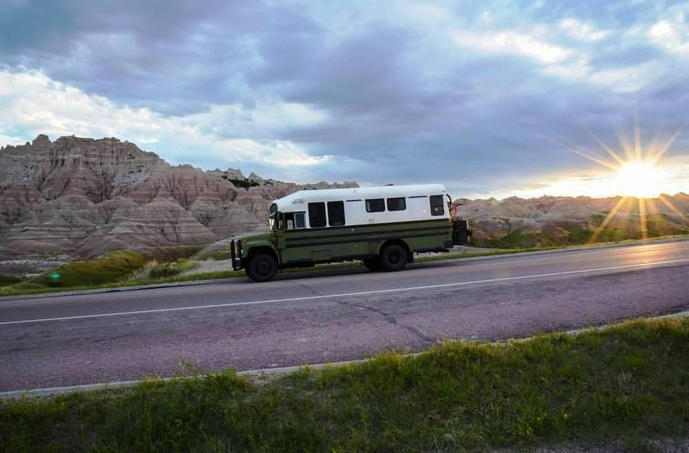 Дом-автобус как образ жизни