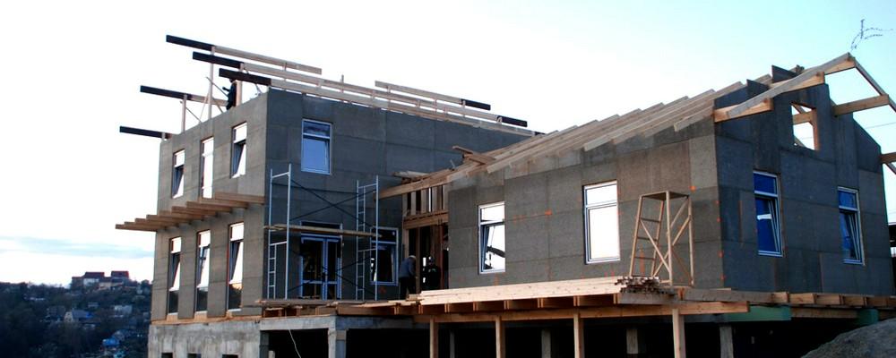 Фасад из ЦСП: подготовительный этап