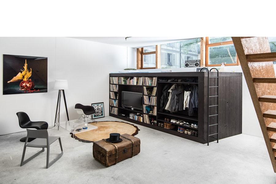 Жилой куб – многофункциональная мебель для малогабариток