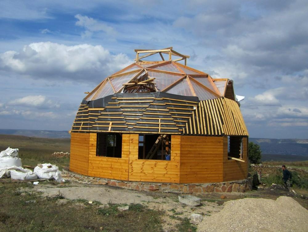 Купольный дом под снос или, как выбросить на ветер 3 миллиона рублей
