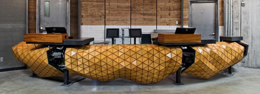 «Деревянная кожа»: гибкий материал на основе фанеры