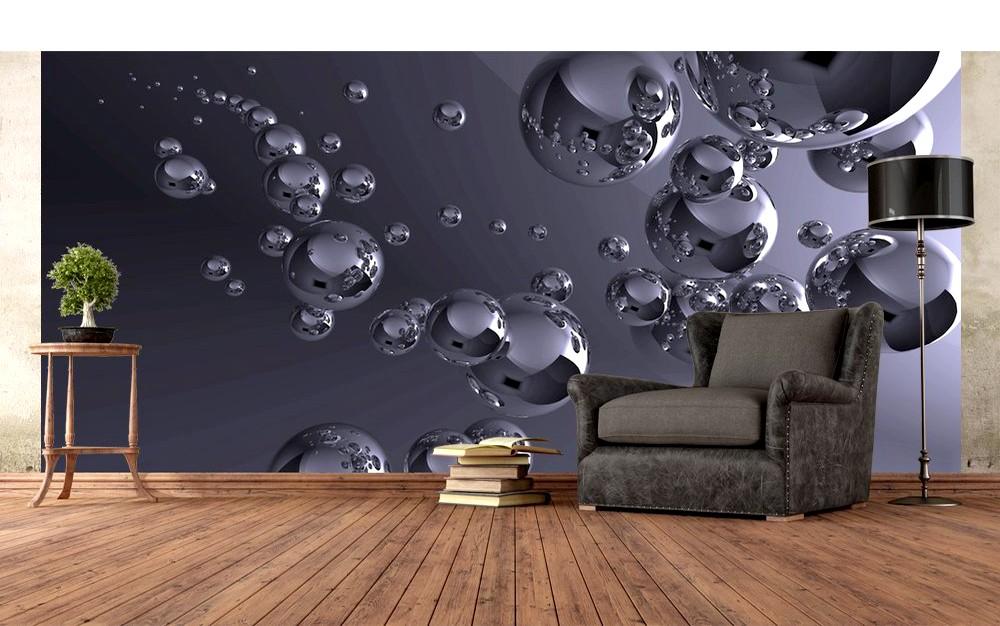 Стереоскопические обои – оформляем стены 3D