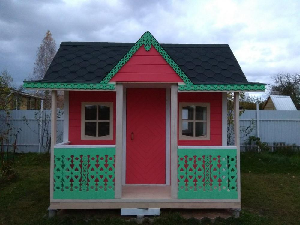 Детский домик с верандой по цене iPhone
