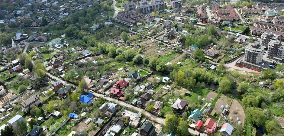 Россияне построили за полгода рекордное число частных домов