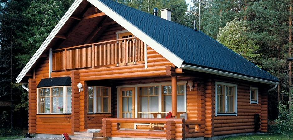 Как покрасить деревянный фасад