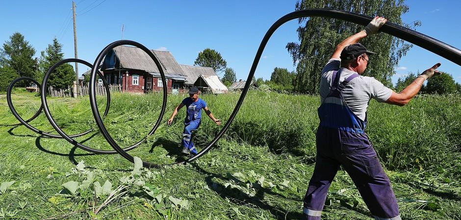 Глава Совета Федерации призывает власти подводить газ бесплатно к фундаменту дома