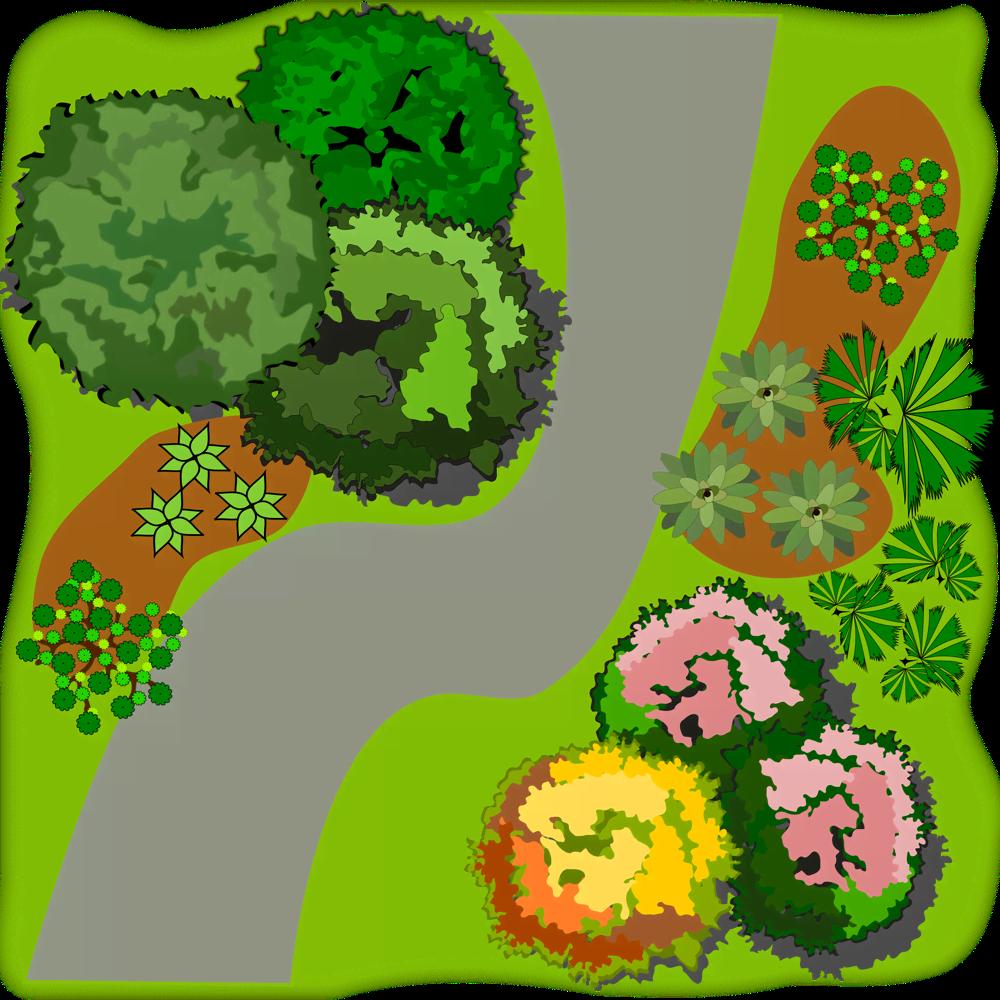 Малоуходный сад на шести сотках
