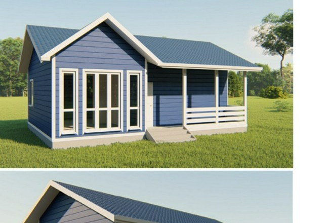 Покраска деревянного дома своими силами