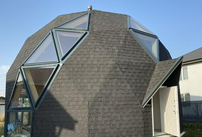 Треугольные окна в купол